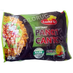 Lucky me, instant pancit canton chilimansi flavor